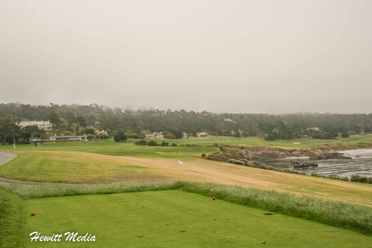 Pebble Beach Clubhouse18th Hole at Pebble Beach