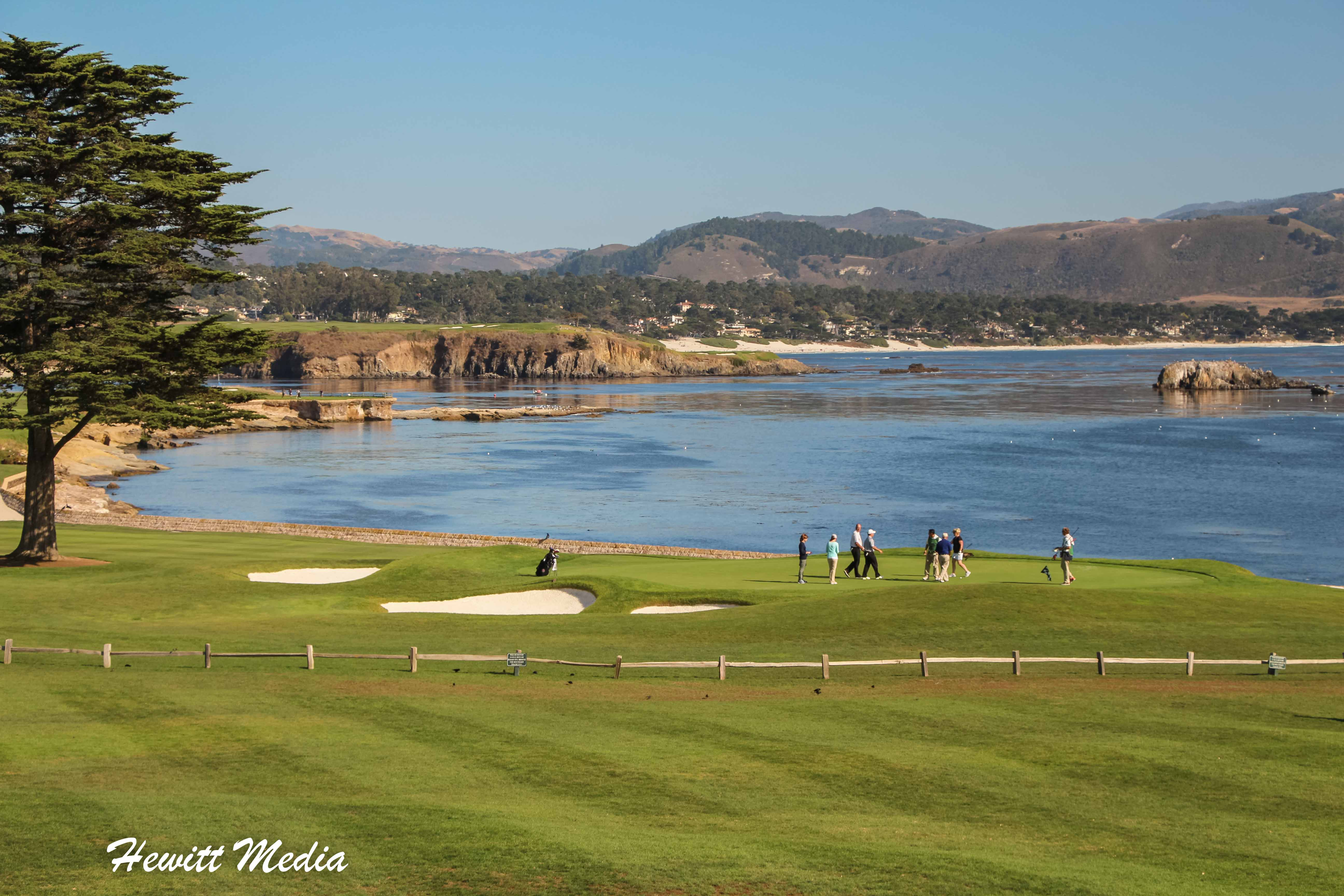 18th Hole at Pebble Beach