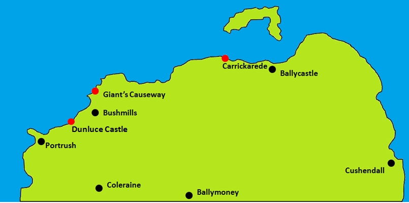 Dunluce Castle Map.png