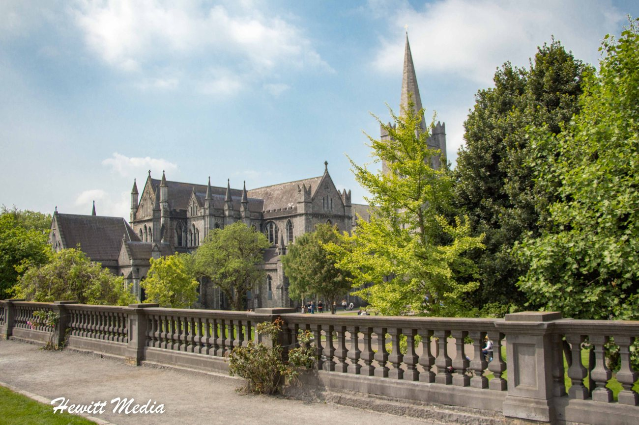 St. Patrick's Cathedral in Dublin
