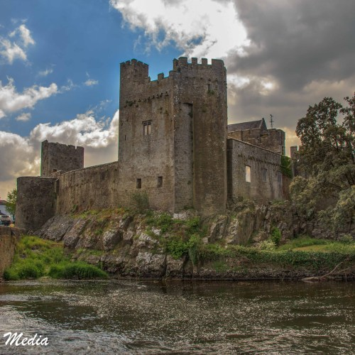 The Cahir Castle is truly breathtaking