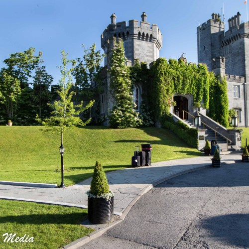 The Dromoland Castle Hotel is a charming hotel
