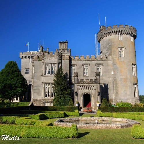 The beautiful Dromoland Castle Hotel in Ireland