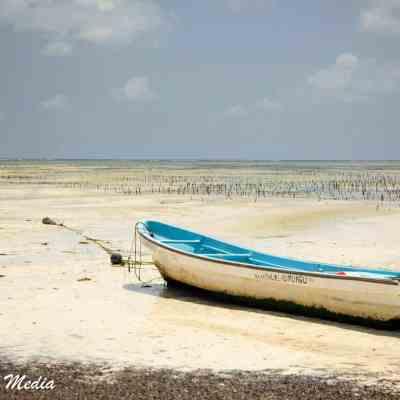 Paje Beach on Zanzibar