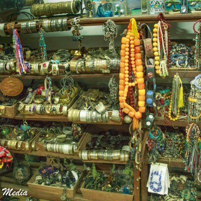 Jewelry for sale in Stone Town