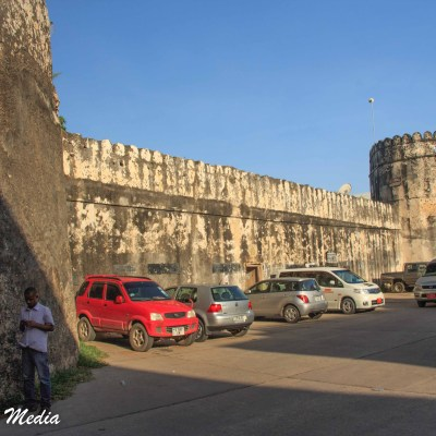 The old fort in Stone Town