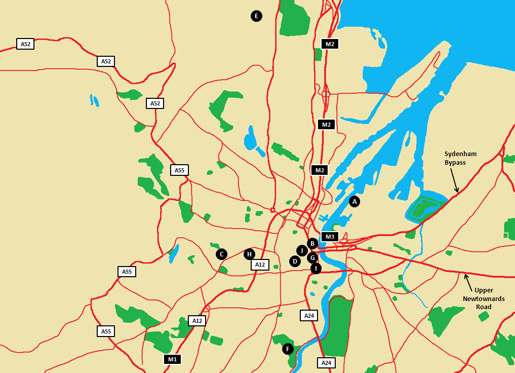 Belfast Tourism Map.png