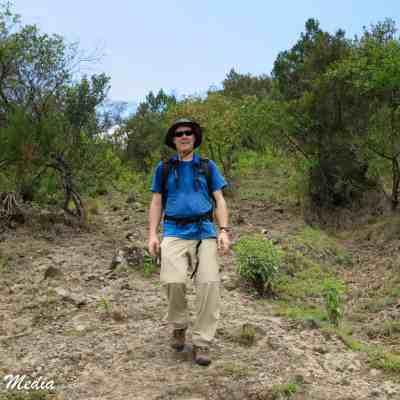 Hiking Mount Meru