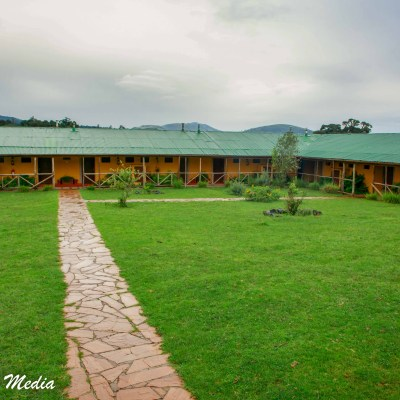 The Rhino Lodge outside of the Ngorongoro Crater