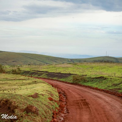 Road thru the Ngorongoro Conservation Area