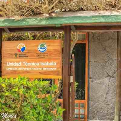 The Charles Darwin Research Station on Santa Cruz Island.