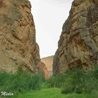 Santa Elena Canyon inside Big Bend National Park