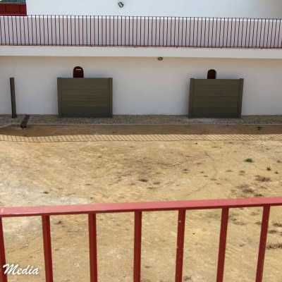 Inside the Plaza de Toros in Ronda, Spain