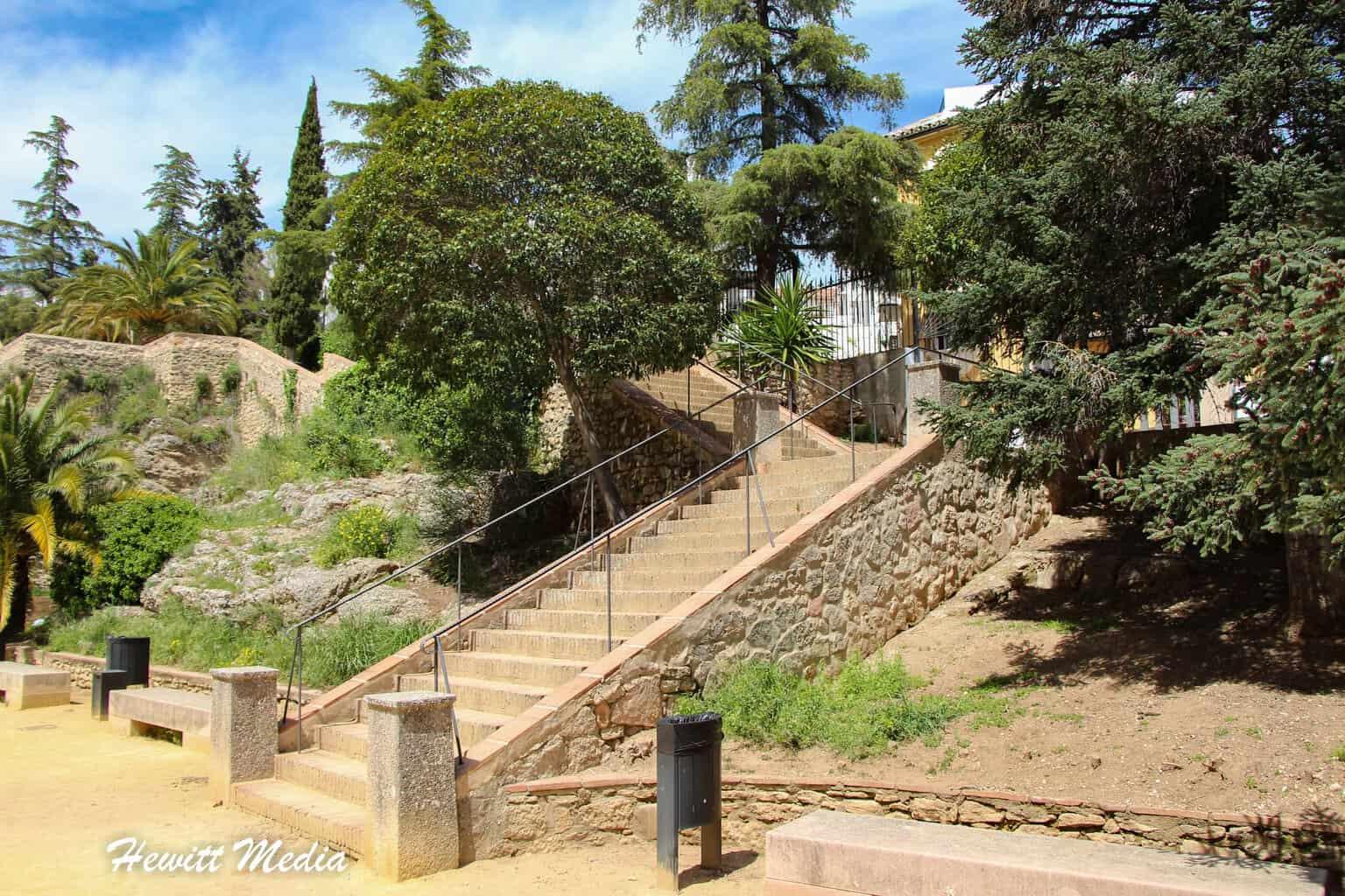Jardines de Cuenca in Ronda, Spain