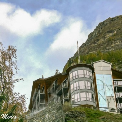 The Omnia Hotel in Zermatt