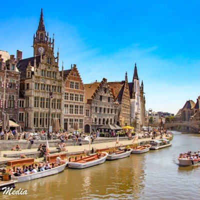 The canals in Ghent