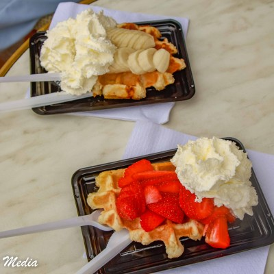 Some delicious Belgian waffles