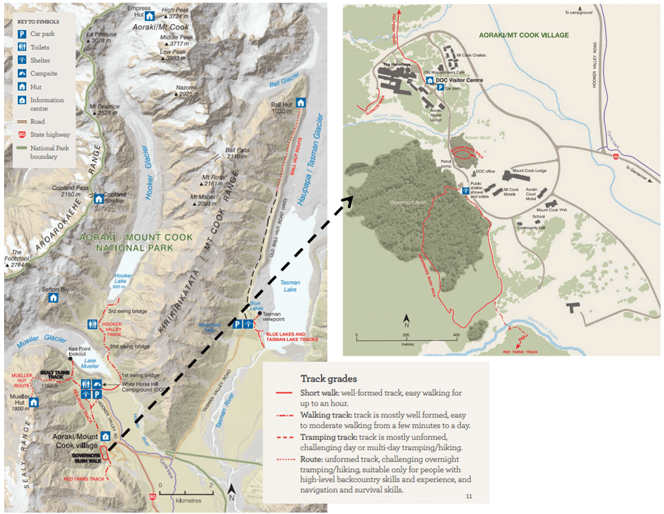 Mount Cook National Park Map.png