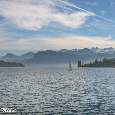 The stunning Lake Lucerne
