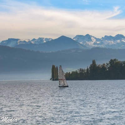 The stunning Lake Lucerne