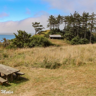 The beautiful Ecola State Park