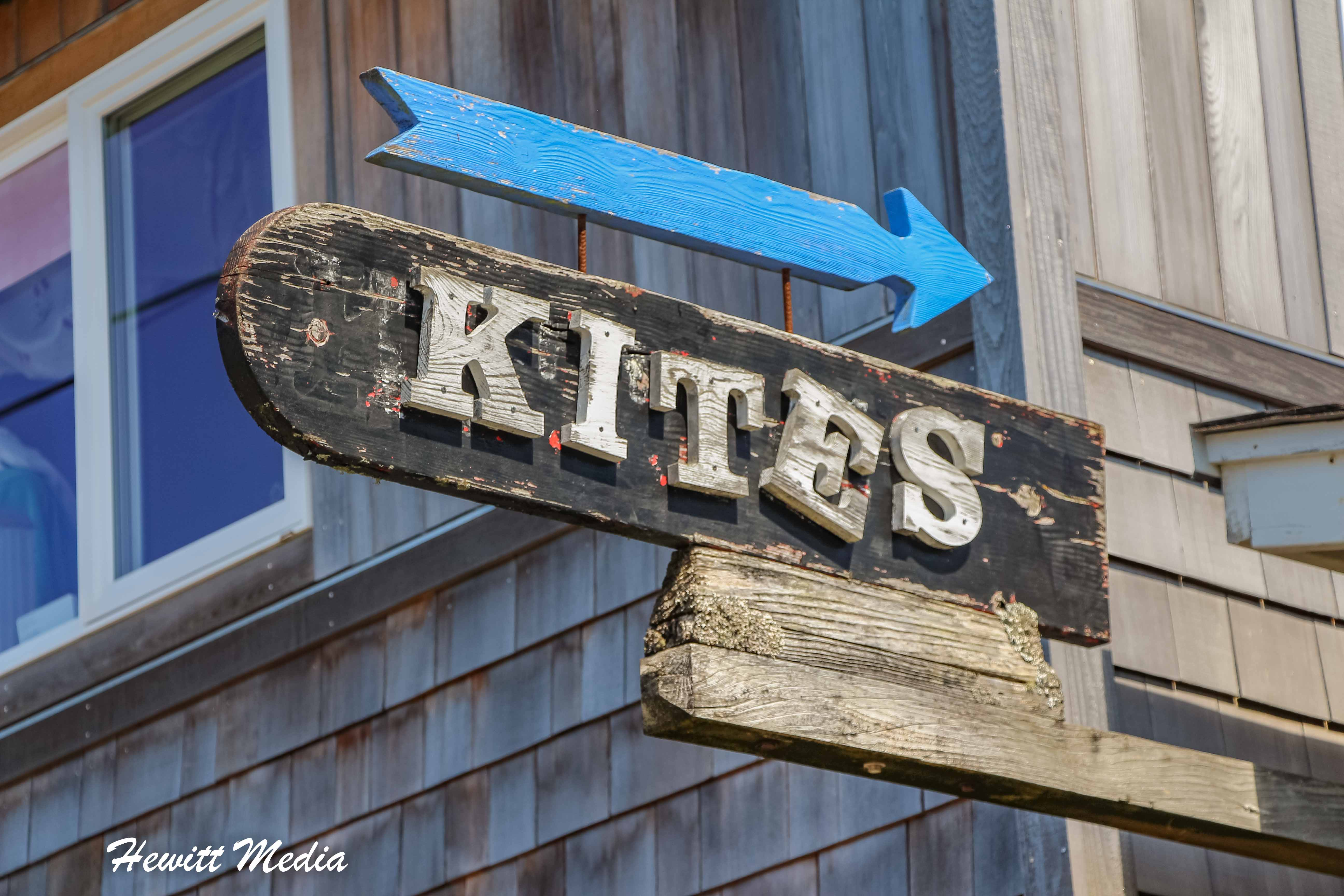 A unique kite shop in downtown Canon Beach