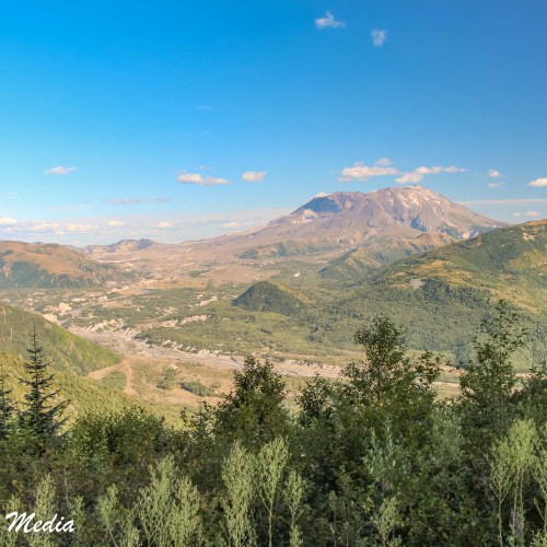 Mount St. Helens in Washington