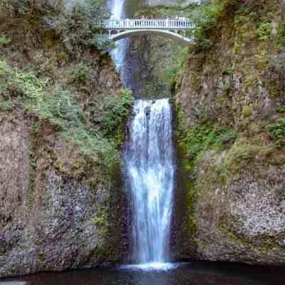 The Multnomah Falls