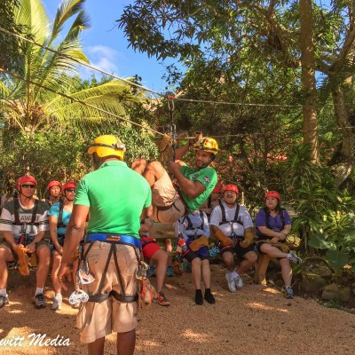 Our zip lining guides