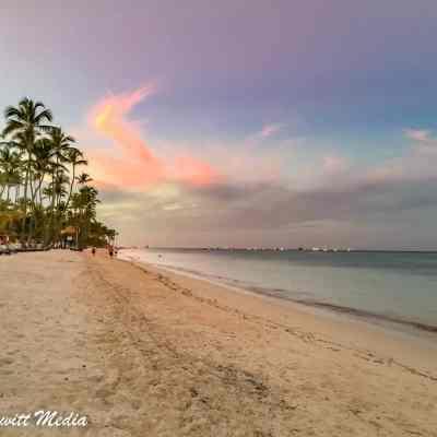 The beach in Punta Cana