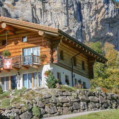 Beautiful house in Lauterbrunnen Valley