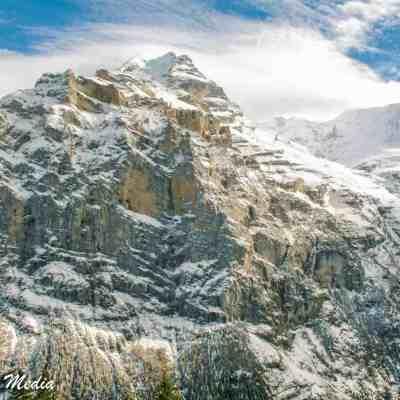 Swiss Alps near Mürren
