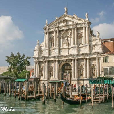 The beautiful architecture of Venice