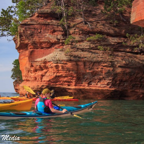 Sea Cave in the Apostle Islands