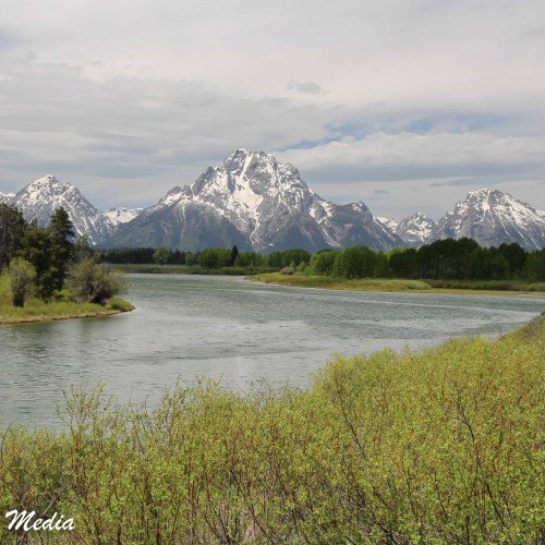 The Snake River and Grand Teton Range