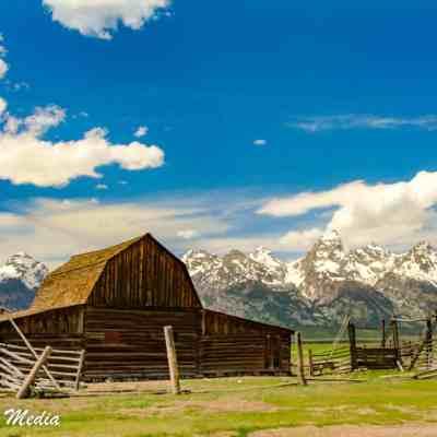 Mormon Row in Grand Teton National Park