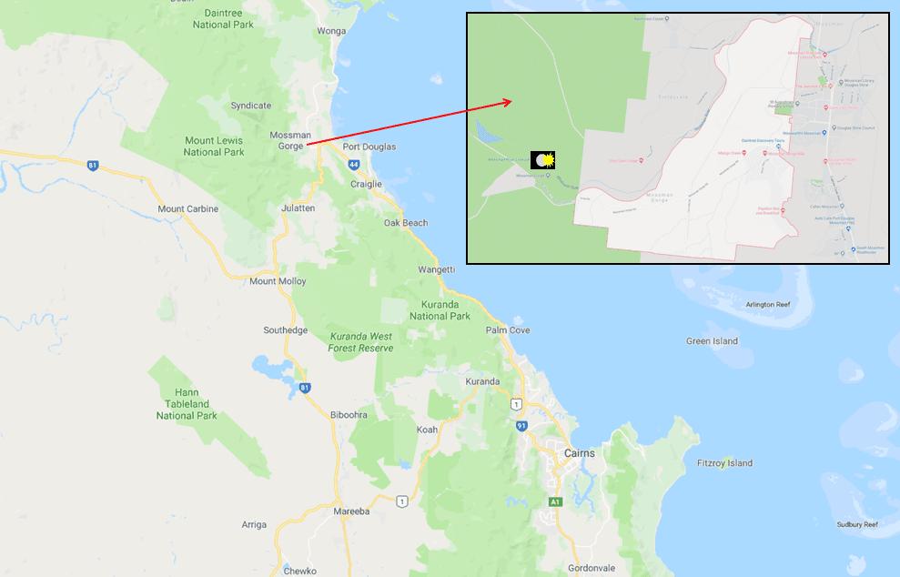Mossman Gorge - Photo Map