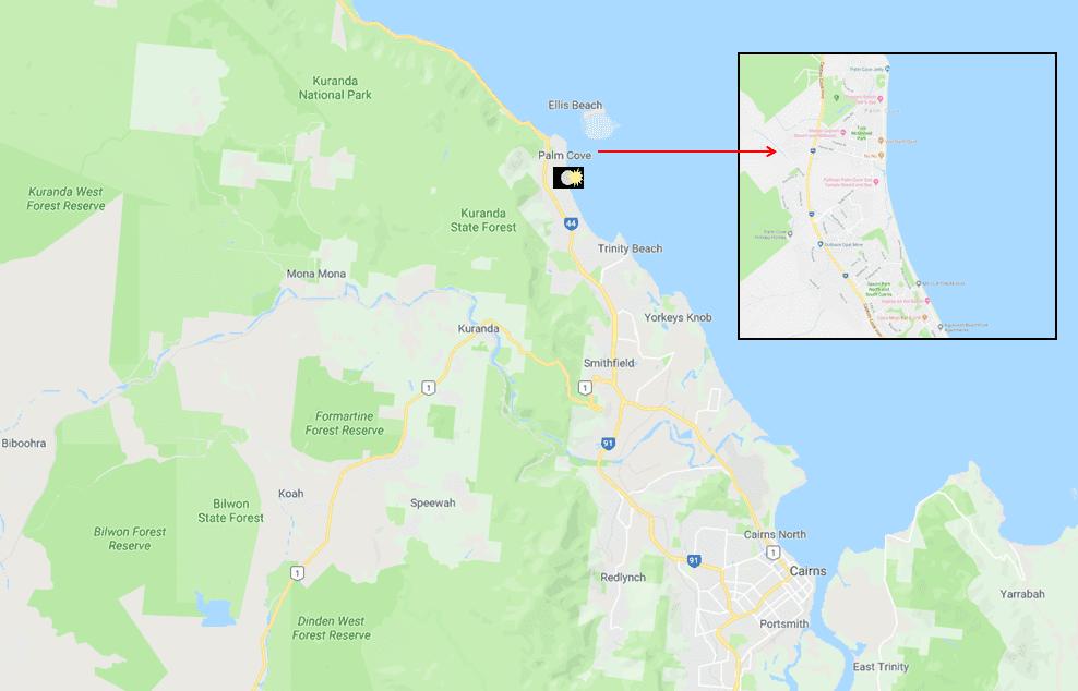 Palm Cove – Cairns Beaches - Photo Map