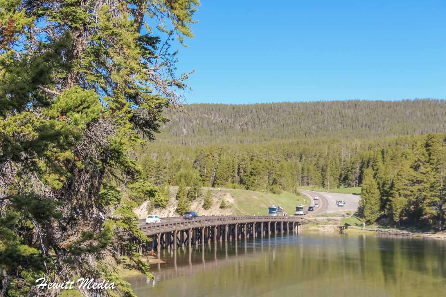 Fishing Bridge in Yellowstone