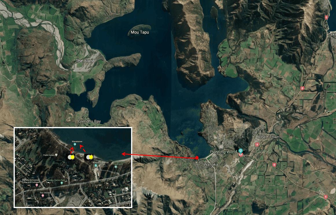 Wanaka Tree Photo Map