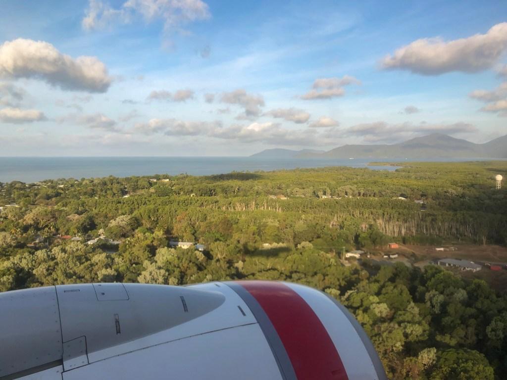 Travel Journal (9/19/2019):  Arriving in Cairns