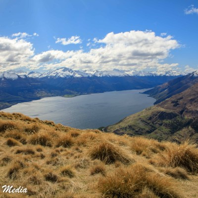 View of Lake Wanaka on the Isthmus Track
