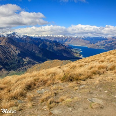 Near the Summit of the Isthmus Peak