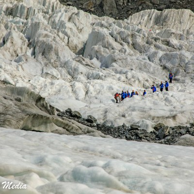 Hiking on Franz Josef Glacier
