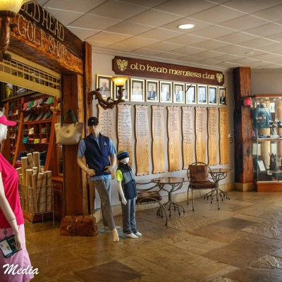 Inside Old Head Clubhouse