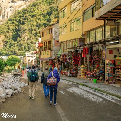 Arriving in Aguas Calientes (Machu Picchu Town)