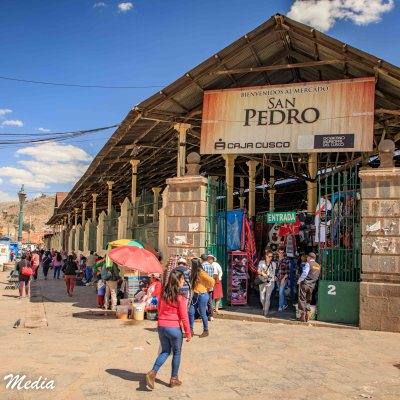 The San Pedro Market in Cusco