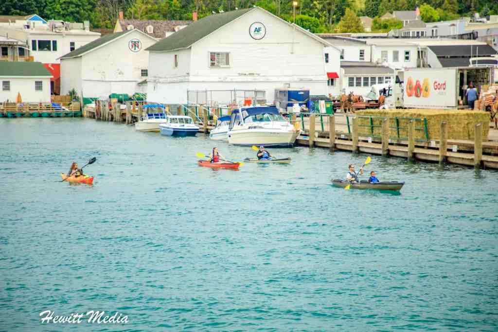 Great Lakes Kayaking - Mackinac Island