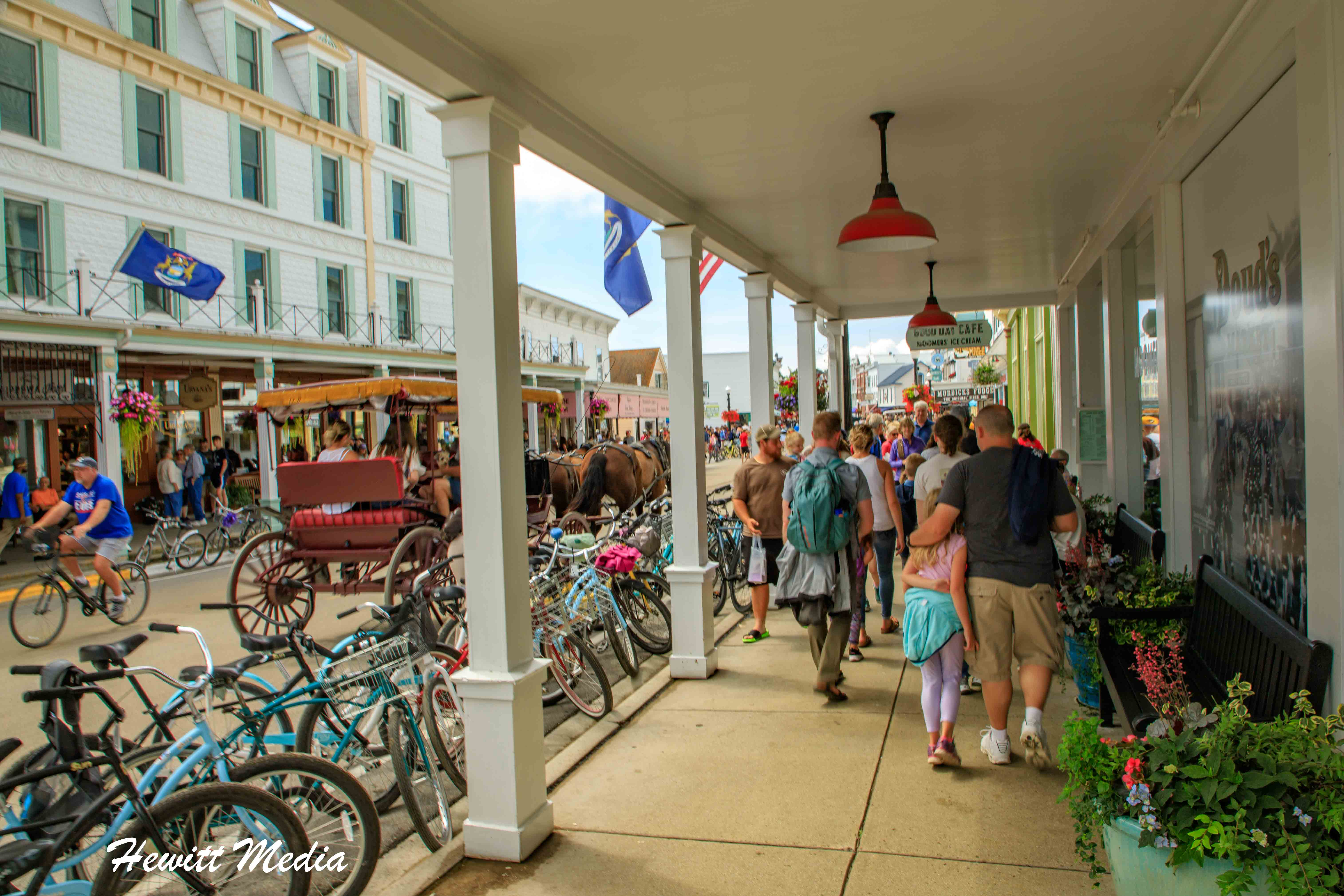The Historic Downtown Mackinac Island