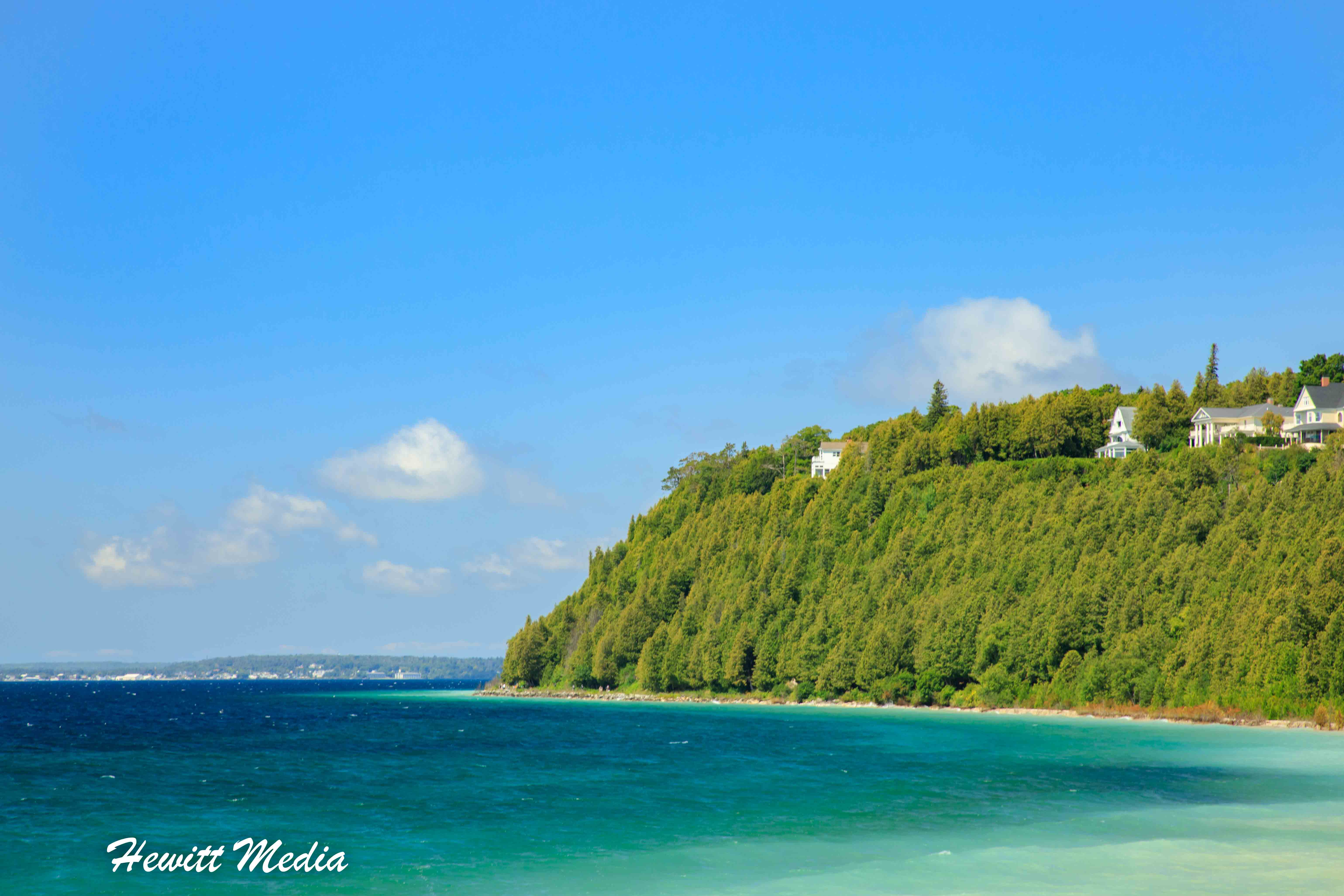 Beautiful Shoreline of Mackinac Island